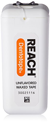 REACH Dentotape Waxed Tape, Unflavored 1 - Reach Unwaxed Dental Floss Unflavored Shopping Results