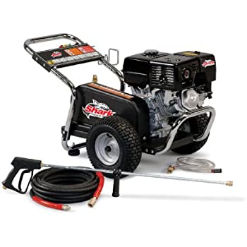 Amazon.com : Shark BR-405037E 5, 000 PSI 4.0 GPM Honda Gas Powered Industrial Series Pressure ...