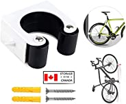 Mountain Bike Clip, Indoor Outdoor Wall-Mounted Mountain Bicycle Rack Storage System, Bike Storage Parking Buc