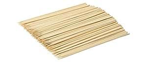 Azul (200 unidades) donas itcentre 20,32 cm pinchos de bambú