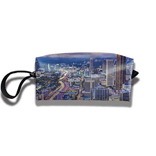 Cosmetic Bags With Zipper Makeup Bag Sunset Atlanta