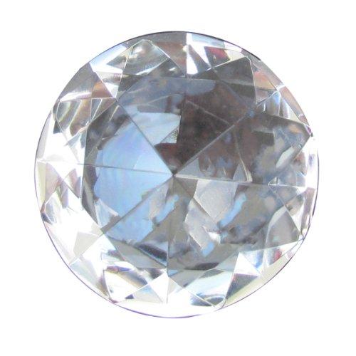 (Big 60mm Crystal Clear Cut Glass Diamond)