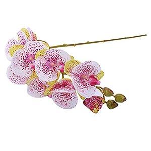 Meigeanfang 1x Artificial Flower Moth Orchid Bridal Wedding Bouquet Home Furnishing Decor 94