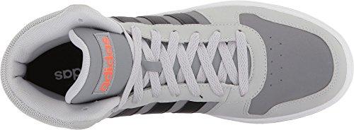 adidas Mens Vs Hoops Mid 2.0 Grey Two/Black/Green Three GtiQCkgFNC