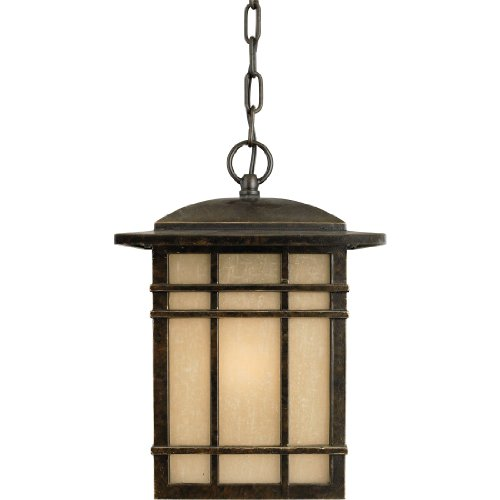 Quoizel HC1909IB Hillcrest Outdoor Pendant Lantern Ceiling Lighting, 1-Light, 150 Watt, Imperial Bronze (13