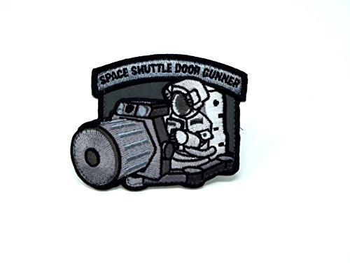 MilSpec Monkey Shuttle Door Gunner Morale Patch (SWAT (Black)) ()