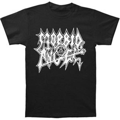 Morbid Angel White Logo Extreme Music T-Shirt