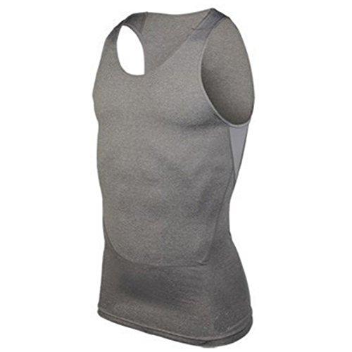 Edal Mens Fast Dry Vest Fitness Training Sports Tank Top Sleeveless T-Shirt