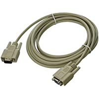 C2G 15ft Economy HD15 SVGA M/F Monitor Extension Cable / 02719 /