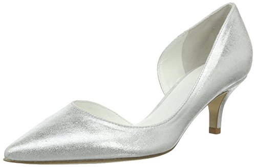 Kennel und Schmenger Schuhmanufaktur Women's Selma Closed Toe Heels White (White) 5KzpMXjO9