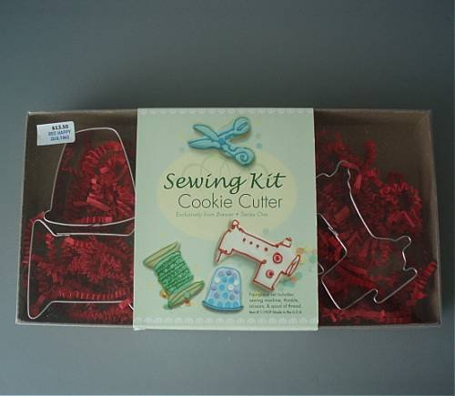 4 Piece Sewing Cookie Cutter Set