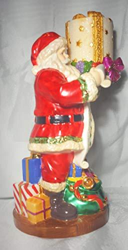 Christopher Radko 1999 Santas List Decorative Figurine. with Candle.