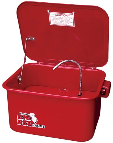 Torin Big Red T10035 Steel Cabinet Parts Washer, 3.5 Gallon Capacity