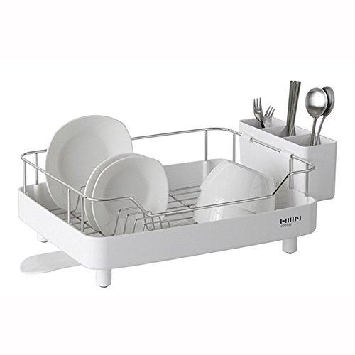 HANSEM 1 Tier Dish Rack Kitchen Utensil Sinkware,Dish Drying