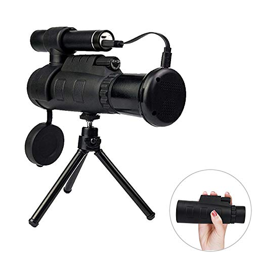 HD Telescope 12X Portable High Definition Infrared Night Vision Monocular Telescope, Support Phone Photography by Gladnt
