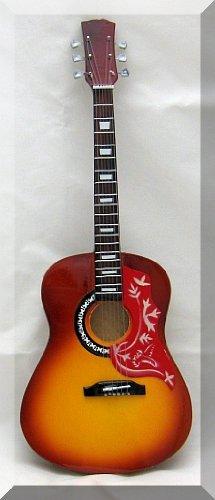 Jonny greenwood miniature mini guitar gibson hummingbird