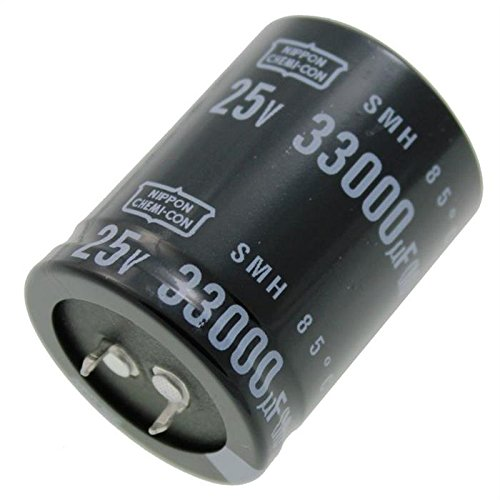 Chimique Condensateur 33000/µF 25V 85/°C ; ESMH250VSN333MA45T ; 33000uF