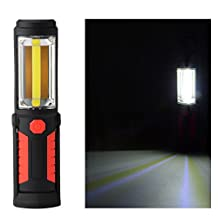 XCSOURCE LED Magnetic Work Light Rechargeable Emergency Inspection Flashlight Lamp Torch Outdoor Camping Hiking Fishing MA1296