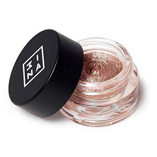 3INA Makeup Cruelty Free Paraben Free Cream Eyeshadow 3 ml - 313 Light Brown