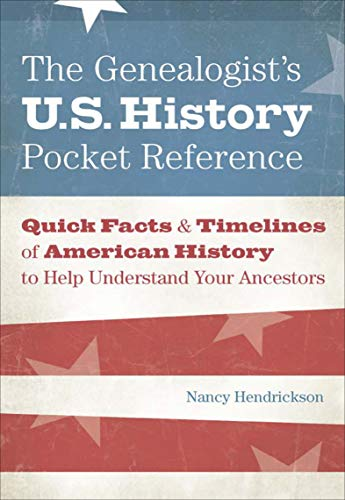 Amazon The Genealogists Us History Pocket Reference Quick