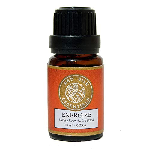 Energize 100% Pure Undiluted Essential Oil Blend for Strength, Stamina & Focus