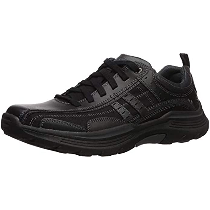 Skechers Men's EXPENDED-MANDEN Leather LACE UP Oxford