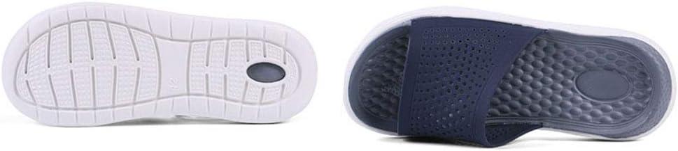 Heren strandpantoffels Soft Bottom Shower Pantoffels Open Toe Pool Sandalen Home Schoenen Maat 40-45 grijs
