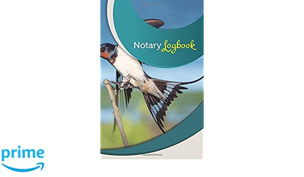 Notary Log Book: 50 Pages, 5 5