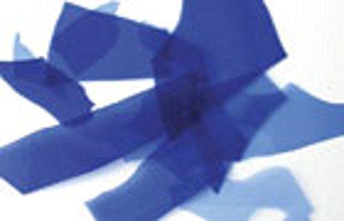 Confetti Cobalt (Uroborus COE 96 Confetti Cobalt Blue Opal Fusible Glass 4 Oz)
