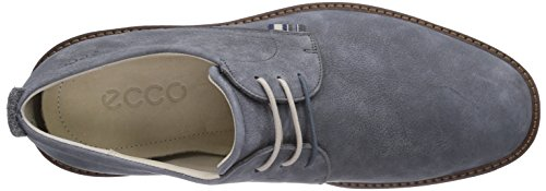 Ecco Homme Contour Uni Cravate Chaussure Oxford Moonless