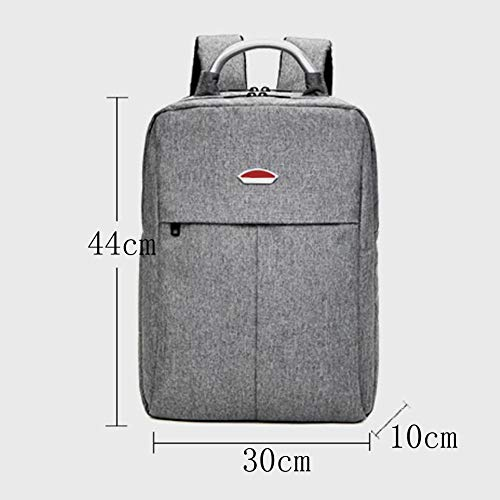 Bag Simple Student Travel Dhfud Casual Backpack Lightgray Men's Fashion Computer xqcOBTwS