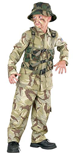 Authentic Delta Force Desert Army Military Child Costume -