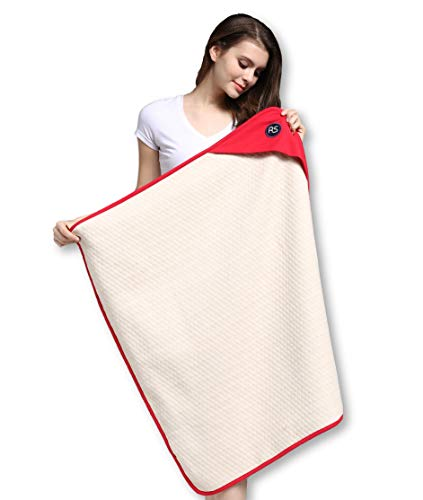 Protective Belly Pregnancy Baby Blanket, Organic, Anti-Radiation, Red, 35