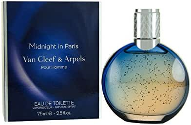 Van Cleef and Arpels Midnight In Paris Eau de Toilette Spray for Men, 2.5 Ounce