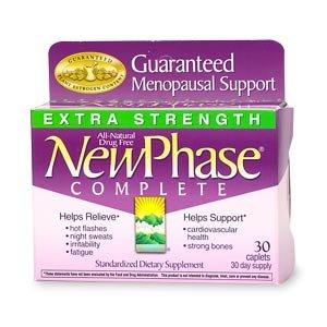 Nouveaux Phase complètes Caplets soutien Ménopause, Extra Strength 30 ct (Quantité de 2)