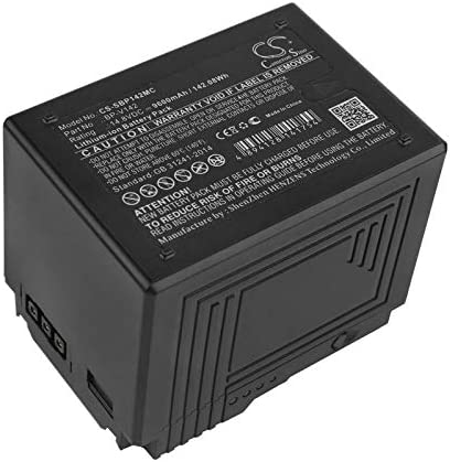 6400mAh//14.8V Battery Replacement for Sony PMW-400 PMW-500 PMW-EX330 PMW-F5 PMW-F55 PMW-Z450 BP-V95