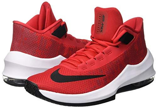 Uomo black white Mid university Multicolore Nike Da Infuriate 600 Scarpe 2 Air Red Basket Max Hq7wqO8