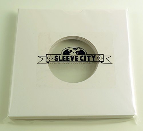 Inch Die Cut White Record Jackets