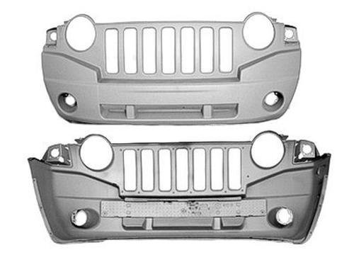 NEW FRONT BUMPER COVER PRIMED FITS 2007-2010 JEEP COMPASS 68002271AC