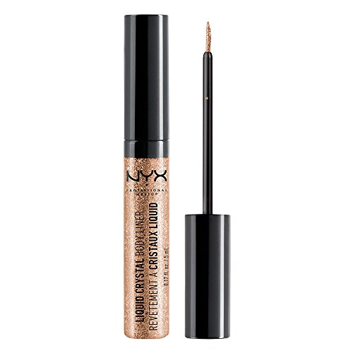 Price comparison product image NYX Professional Makeup Liquid Crystal Liner, Crystal Champagne, 0.17 Ounce