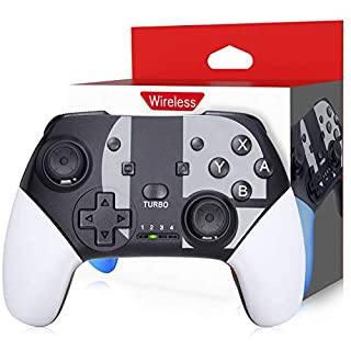 Wireless Switch Pro Controller for Nintendo Switch - Remote Pro Controller Gamepad Joystick for Switch Controller, Supports Gyro Axis, Turbo and Dual Vibration