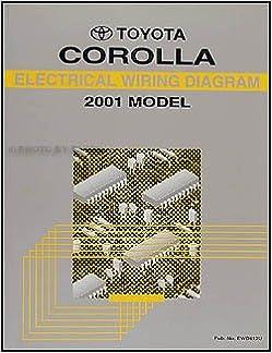 2001 Toyota Corolla Wiring Diagram Manual Original: Toyota: Amazon.com:  BooksAmazon.com