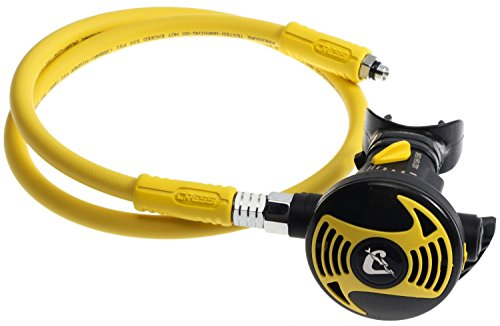 Cressi Octopus XS, light and flexible octopus for scuba diving, made in Italy