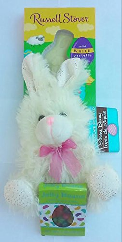 russel-stover-solid-white-chocolate-easter-bunny-chocolate-scented-bunny-plush-and-box-of-jelly-bean