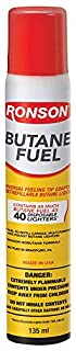 Ronson Multi-Fill Butane Fuel, 135g (B001QP8DOS) | Amazon price tracker / tracking, Amazon price history charts, Amazon price watches, Amazon price drop alerts