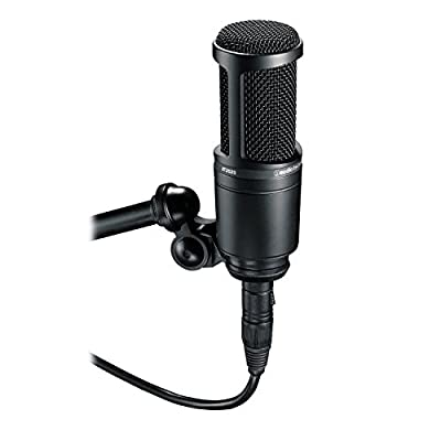 Audio-Technica AT2020 Cardioid Condenser Studio Microphone (Certified Refurbished) from Audio-Technica