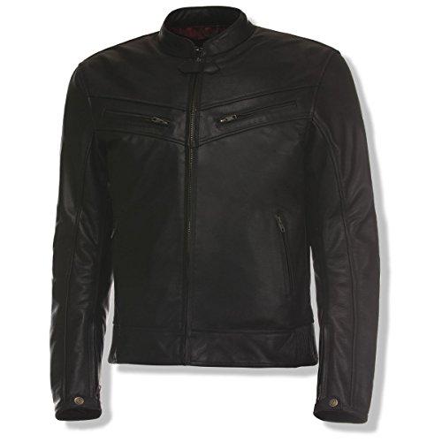Medium Motorcycle Leather Racing Jacket - 6