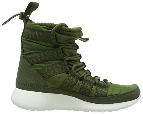 Rosherun ROUGH Wmns 0 material sintético de deporte SAIL mujer GREEN Calzado de Sneakerboot NIKE Hi q7dfwx5qF
