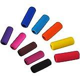 ULTNICE Estudiantes Universal 10pcs resbalón espuma suave lápiz apretones papelería oficina suministros Color al azar