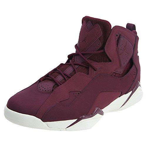 Jordan Men's True Flight Basketball Shoe, Bordeaux/Bordeaux-Sail Size 12 -
